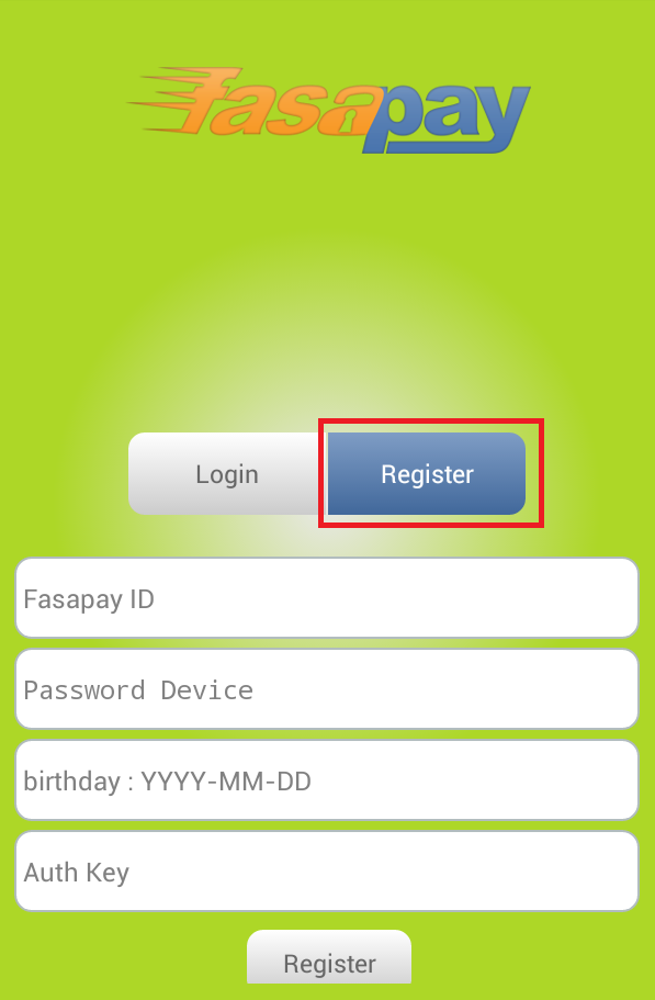register android