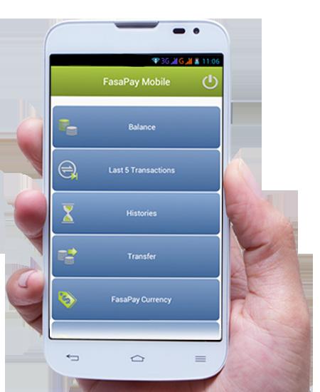 FasaPay Mobile Application